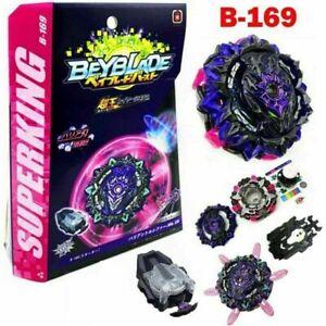 Beyblade Burst SuperKing B-169 Variant Lucifer.Mb 2D W/ Launcher Box Kid Gift AU