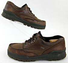 ECCO Track II Low Oxford Shoes Bison Brown Leather EU 48 / US 14-14.5