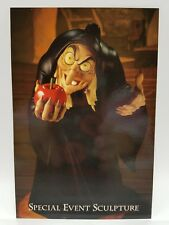WDCC Disney Post Card Evil Queen Snow White Wicked Witch Take Apple Dearie 4 x 6