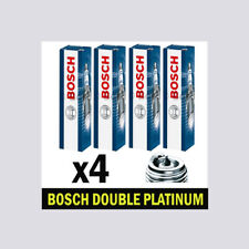 4x Bosch Platinum Spark Plugs for NISSAN NOTE 1.6 HR16DE E11 110bhp
