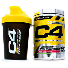 Cellucor C4 Original Pre-Workout Energy and Focus + Free Shaker (90 Servings)