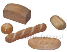 5 helle Brote, Miniaturen für Puppenstube Puppenhaus 1:10 Bodo Hennig 27010 NEU