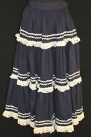 VINTAGE 1960'S COTTON DANCING STYLE SKIRT