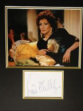 SIAN PHILLIPS - CLASH OF THE TITANS ACTRESS - SIGNED COLOUR PHOTO DISPLAY