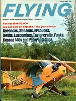 Flying Magazine June 1967 Cessna Piper Aeroncas EX No ML 120716jhe
