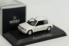 Peugeot 205 Rallye Meije white 19881:43 Norev 472831 diecast