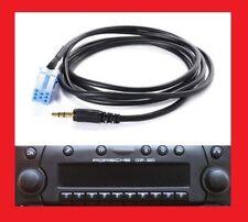 Cable aux jack adaptateur mp3 autoradio jack becker CDR+22 CDR+32 porsche