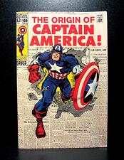 COMICS: Marvel: Captain America #109 (1969), Cap's origin retold - RARE