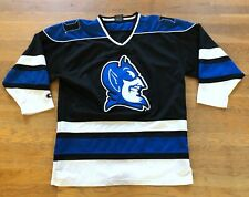 Vintage DUKE BLUE DEVILS Hockey Jersey Colosseum The Authentic NCAA - Size XL