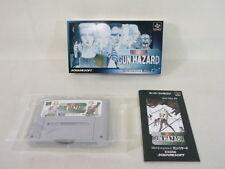 FRONT MISSION GUN HAZARD Item REF/ccc Super Famicom Nintendo Square SFC Japan sf