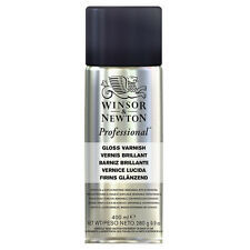 Winsor & Newton : Artists Picture Varnish Spray : 400ml : Gloss