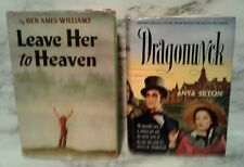 2 Movie Hardcovers DRAGONWYK & LEAVE HER TO HEAVEN Vincent Price & Gene Tierney