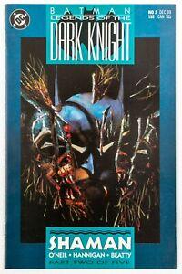 Batman: Legends of the Dark Knight #2 (1989 DC) Shaman Part 2 Unread! NM