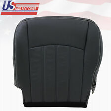 2009 2010 2011 2012 Dodge Ram 1500 Driver Side Bottom Seat Cover Leather DK GRAY