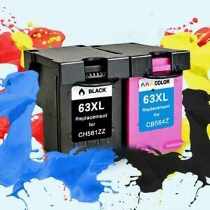 63XL Ink Cartridges For HP envy 4520 Deskjet 3632 4650 4655 3830 5255 O6N9