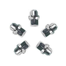 5 Pcs 16mmx1.5 Whee Lug Nuts  Chrome Stainless Steel For Land Rover Discovery 1