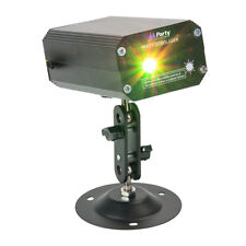 Party Light And Sound Mini Firefly effet laser vert rouge Gobo DJ éclairage