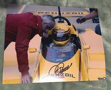 Roger Penske Signed Indianapolis Indy 500 Legend 8 X 10