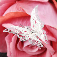 Lovely Silver Plated Hollow Out  Butterfly Necklace Pendant Fashion Jewelry Gift