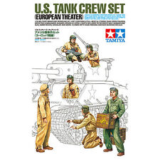 Tamiya 35347 1/35 Scale US Tank Crew Set (European Theater) from Japan