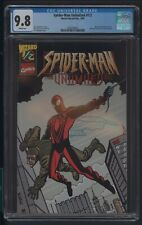 SPIDERMAN UNLIMITED 1/2 CGC 9.8 1999 WIZARD MAIL-AWAY EXCLUSIVE STEPHENSON STORY