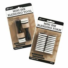 Ranger Ink Tim Holtz Mini Round Blending tool & Foam Refills  NEW