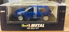 VW Golf 4 GTI Blue Jazz 1/18 Revell 08945