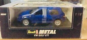 VW Golf 4 GTI Blue Jazz 1/18 Revell 08945