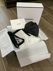 Chanel Factory 5 Limited Edition Beach Crochet Bag, Surprise Gift and Box Set