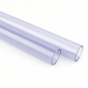 Aquarium Pipe Tube Outer Transparent PVC Water Tank Fittings Hard Upvc water New