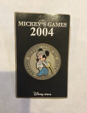 Disney Store Japan Pin MICKEY'S GAMES 2004 Salute To 2004 Olympic Games Minnie