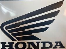 Honda Wings Sticker Decal Pair Motorcycle Tank Fairing 130mmx110mm