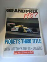 Autocar Special Grand Prix Review 1987 Magazine Piquet