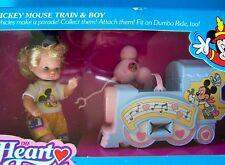 Disneyland Park MICKEY MOUSE TRAIN & BOY Heart Family KIDS ON PARADE NRFB