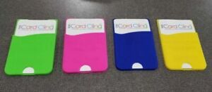 Cell Phone Card Cling Wallet