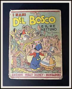 ⭐ I NANI DEL BOSCO - Pop Up - Mondadori Disney 1935 - DISNEYANA.IT ⭐
