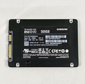 """SAMSUNG 850 EVO 500GB 2.5"""" SATA 3D V-NAND Internal Solid State Drive (MZ-75E500)"""