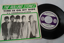 ROLLING STONES Original 1964 1st Press 'Time Is On My Side' EP   London 45-9708