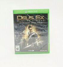Deux Ex: Mankind Divided Day One Edition Xbox One Brand New Factory Sealed