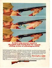 1964 Remington 870 Wingmaster Shotgun Vintage Print Ad