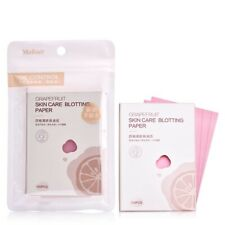 100 Sheets MakeUp Facial Oil-Absorbing Control Blotting Paper Grapefruit Scent