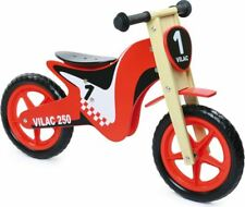 Vilac BALANCE BIKE CROSS Toddler/Child Ride-On Toy Training Learning Wood BN
