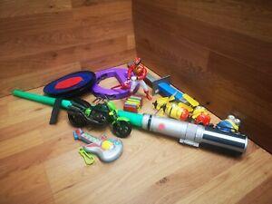 🌟Boys toys bundle mixed figures, light sabre, Power Ranger🌟1