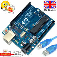 UNO R3 Arduino Rev3 328 MEGA328P ATMEGA16U2 Compatible Board FREE USB UK