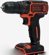 BLACK+DECKER 18V Li-Ion 2 Gear Hammer Drill BCD700S - Bare Unit Drill Only New