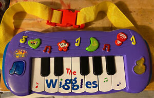 The Wiggles Musical Keyboard Piano 2013 Play And Sing Along Toy