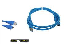 Cable usb 3.0 A / M-Micro 1,5m disco duro ext ultima generacion toshiba adata..