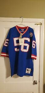 100% Authentic Lawrence Taylor 1986 Giants Mitchell & Ness Jersey Size 52 XXL