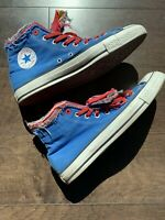Converse (Red) Blue Hightop A03475 Vintage