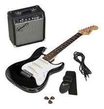 Fender Squier Strato Pack SQ10G BLK Chitarra elettrica + amplificatore +NUOVA+